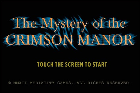 The Mystery of Crimson Manor- screenshot thumbnail