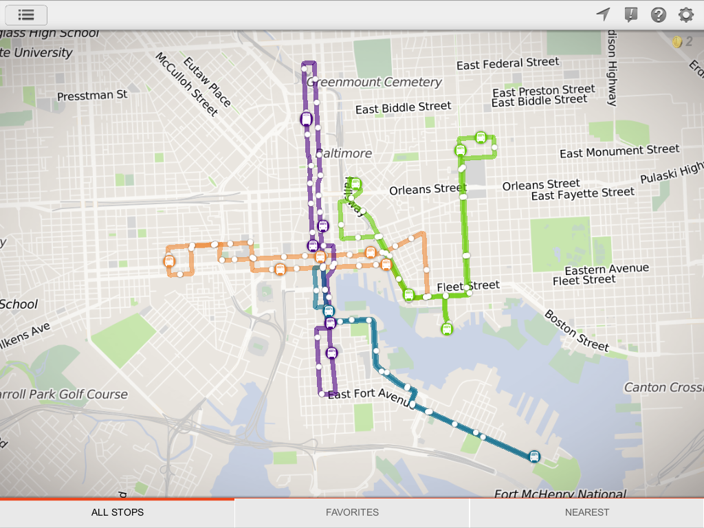 Busit! Realtime Bus Tracker- screenshot