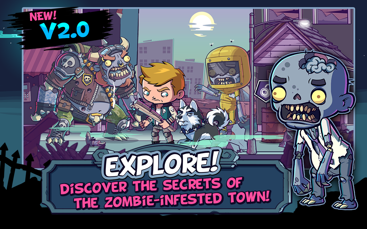 ZOMBIES ATE MY FRIENDS- screenshot