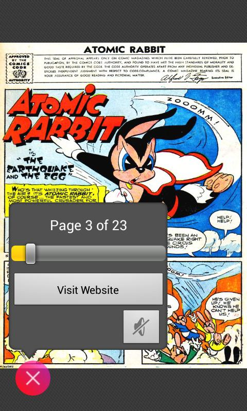 Comic Reader Demo- screenshot