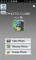 Screenshot of Photo Cube Wi-Fi