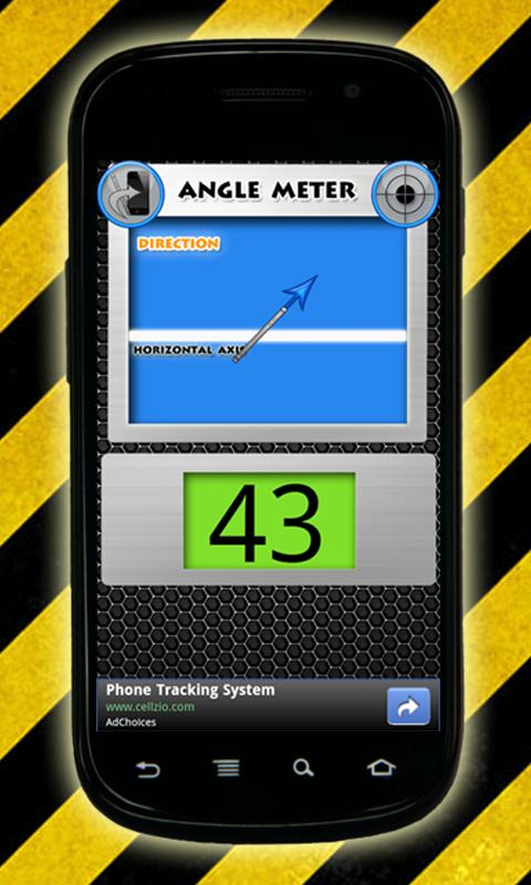 Angle Meter: captura de pantalla