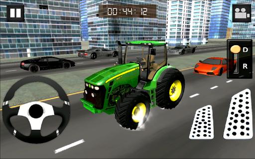 拖拉機模擬器:市徑
