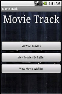 Movie Track (Free Edition) - screenshot thumbnail