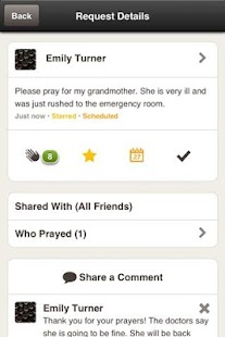 Screenshots for PrayBuzz for Android