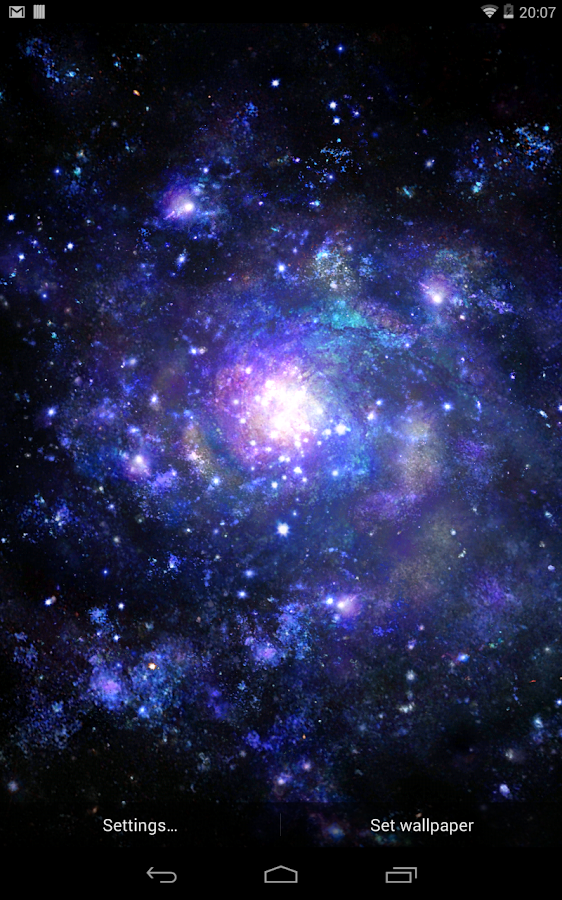 Galactic Core Live Wallpaper- screenshot