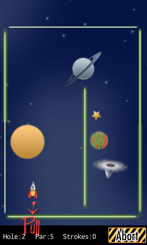 Galacto Golf- screenshot