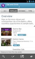 Screenshot of Latvia Travel Guide by Triposo