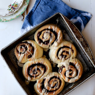 Quick and Dirty Chocolate and Espresso Cinnamon Rolls.