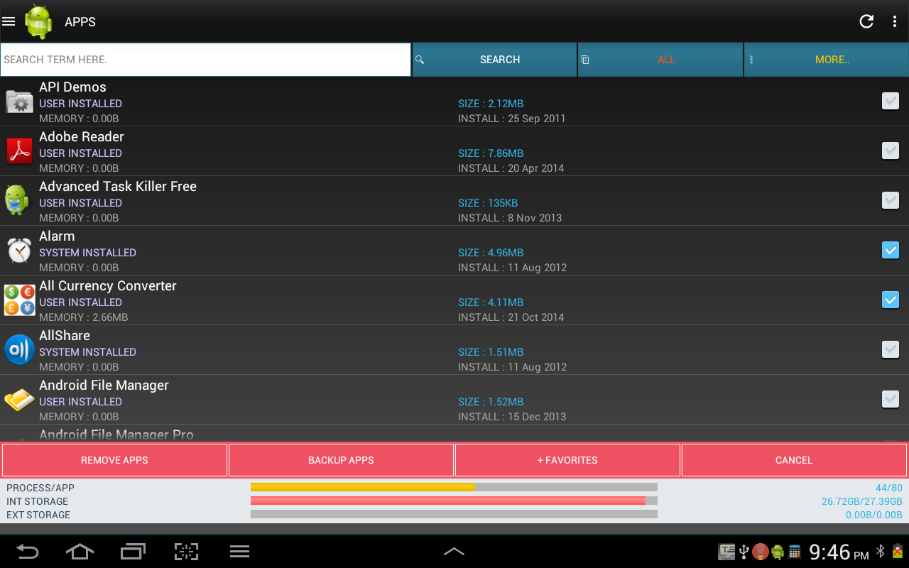 Smart Task Manager - screenshot