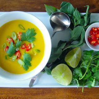 Thai Squash and Coconut Milk Soup