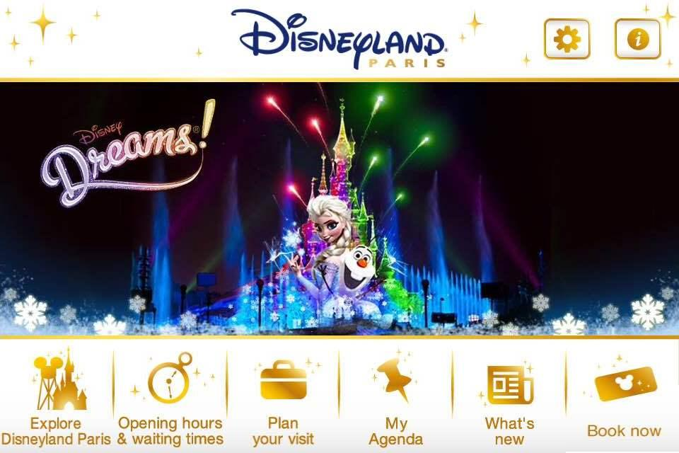 Disneyland® Paris- screenshot