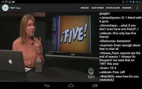Nexus TWiT.tv Live- screenshot thumbnail