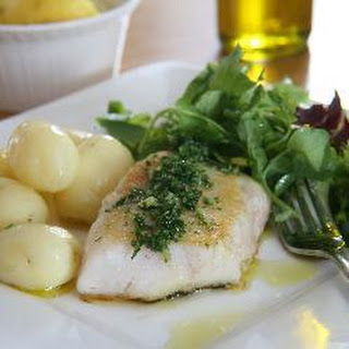 Chunky White Fish With Garlic, Lemon And Olive Oil