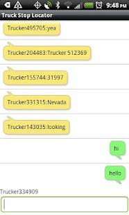 Truck Stop Locator - screenshot thumbnail