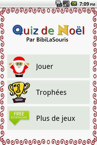 Quiz de Noël en français