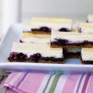 Blueberry Cheesecake Bars.