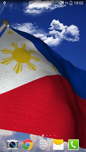 【免費個人化App】Philippines Flag - LWP-APP點子