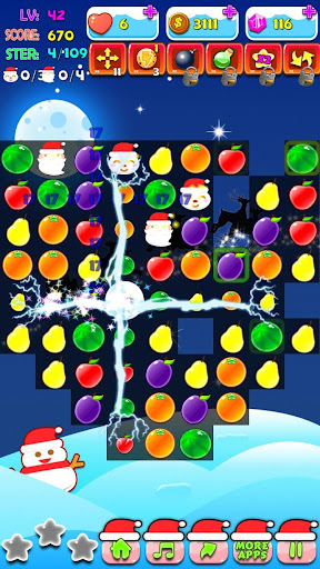 Christmas Fruit Clash