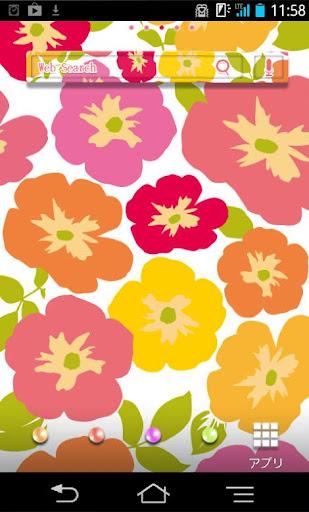 きせかえ壁紙☆flower flower