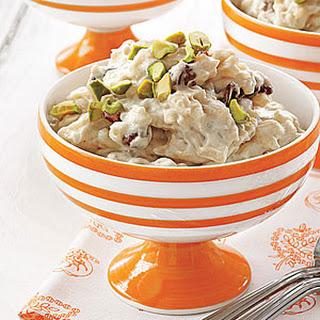Vanilla-Chai Rice Pudding.