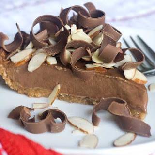 Gluten Free Guilt Free Chocolate Banana Pie