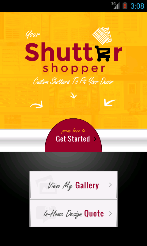ShutterShopper- screenshot