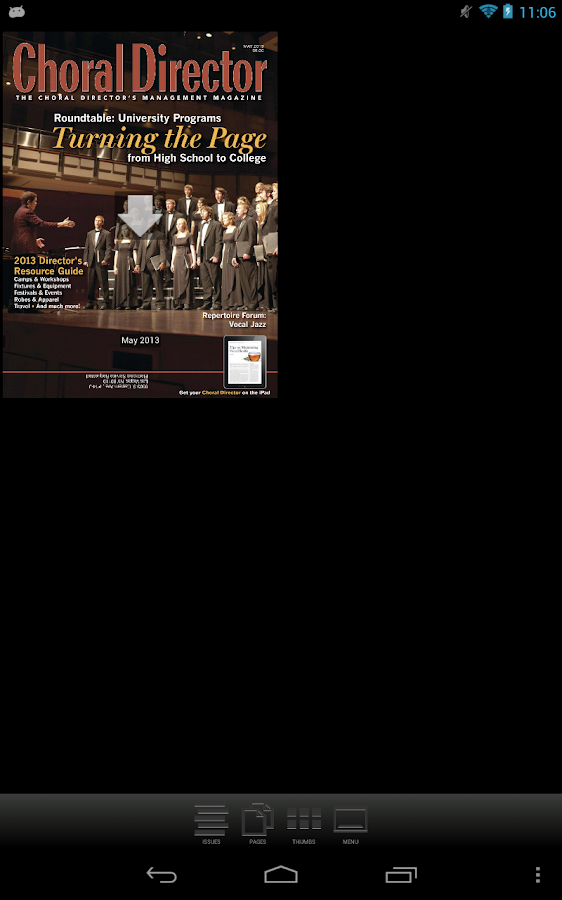 Choral Director - screenshot