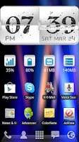 Screenshot of A Flippin Flip Clock DEMO