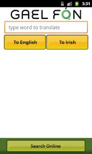 Gaelfon FREE Irish Translator - screenshot thumbnail