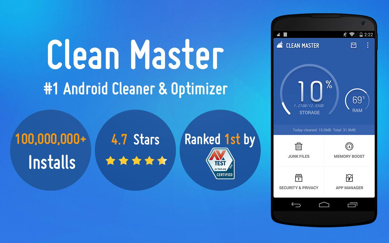 Clean master free optimizer android apps on google play - Clean master optimizer apk ...