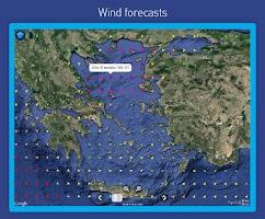 Screenshot of MarineTraffic ship positions