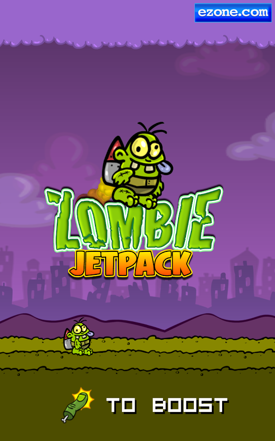 Zombie Jetpack- screenshot