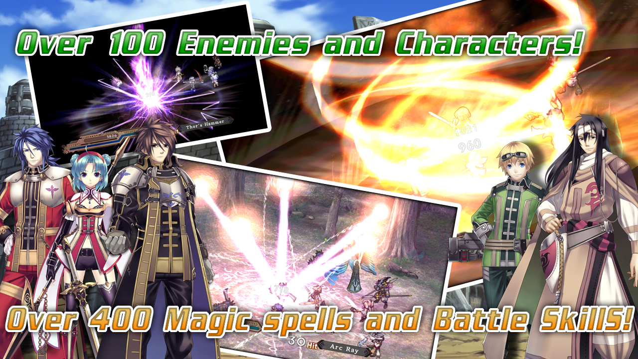 RPG Record of Agarest War Zero- screenshot