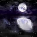 Night Water Ripples Wallpaper icon