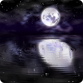 Night Water Ripples Wallpaper