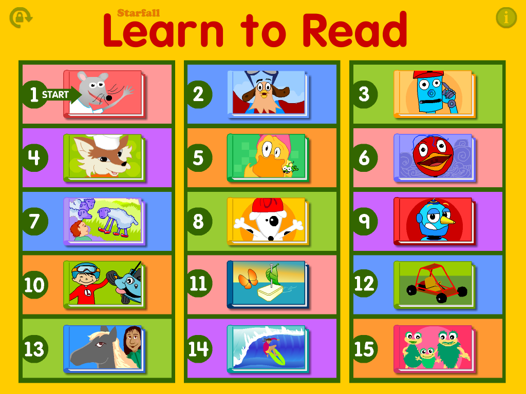 Starfall Learn To Read Android Apps On Google Play