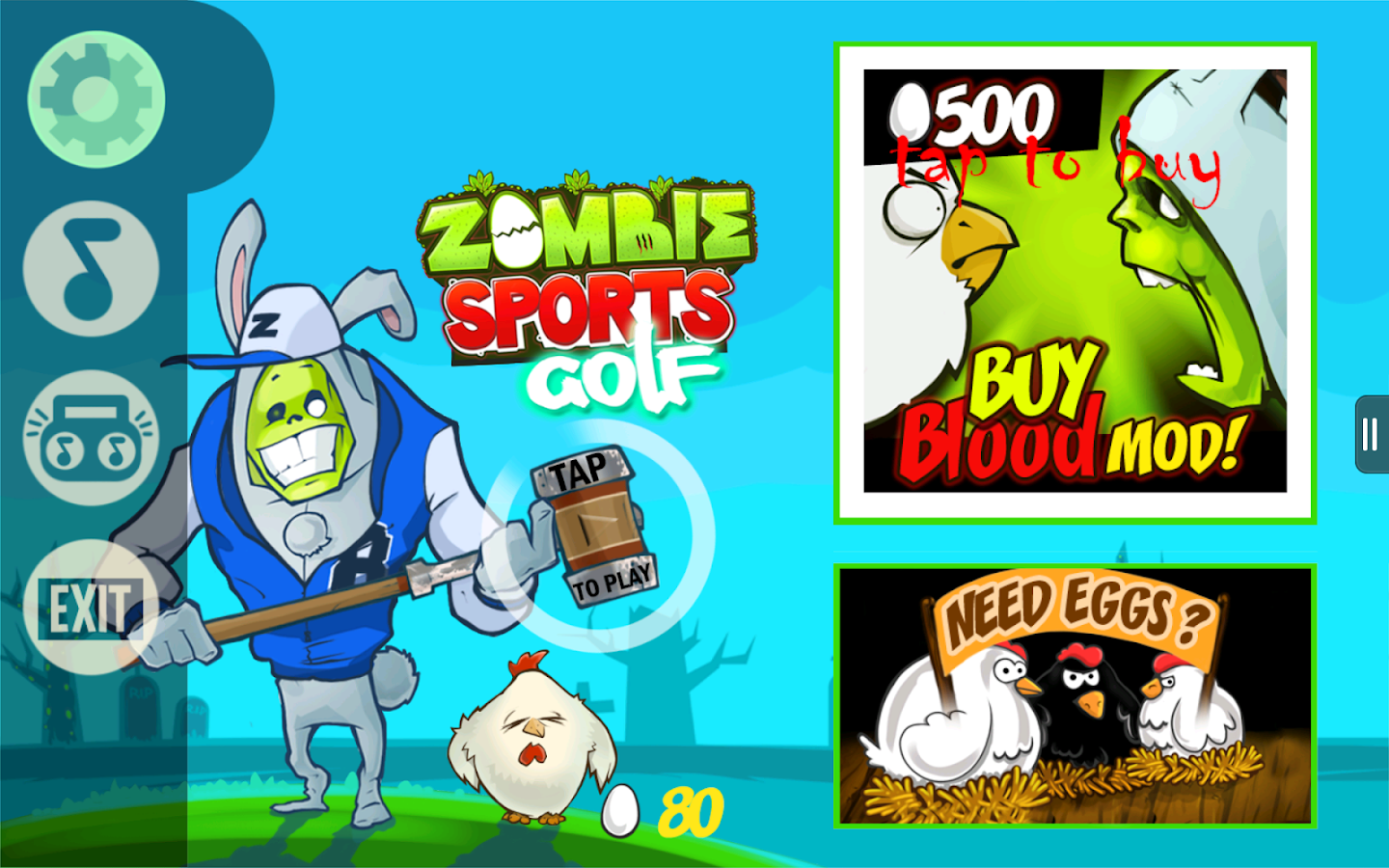 Zombie Golf- screenshot