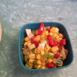 Red Pepper and Corn Relish.