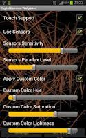 Screenshot of Digital Bamboo Forest Parallax