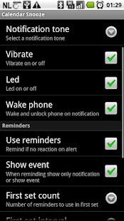 Calendar Snooze- screenshot thumbnail