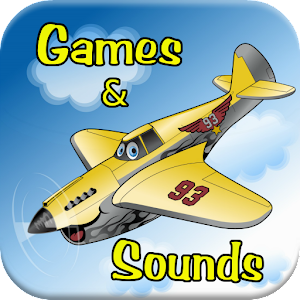 Airplane Games For Kids-Sounds