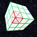 Tic Tac Toe 3D Cube logo