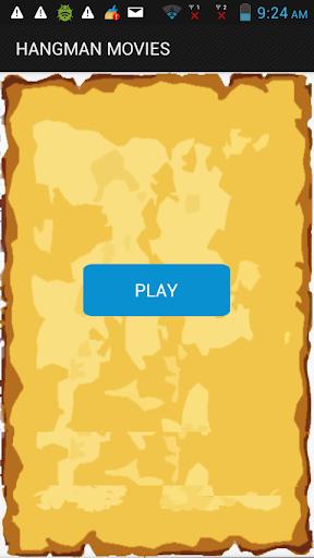 hangman words movies game free