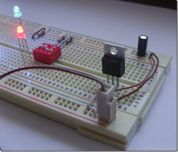 Voltage Regulator with Capacitor 013