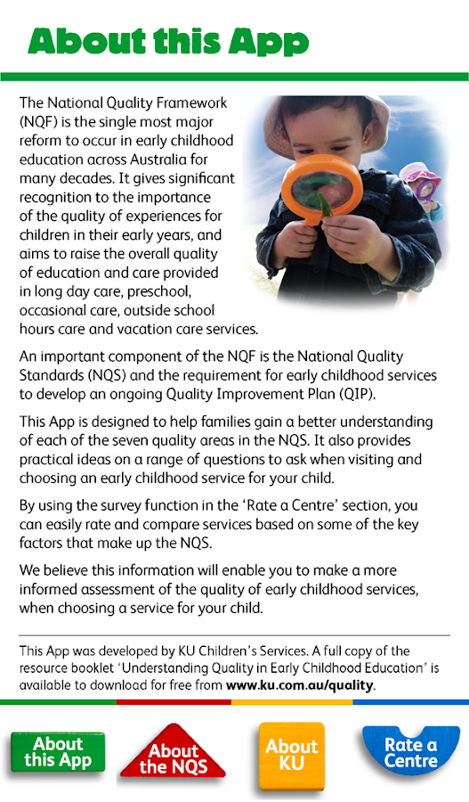 Childcare Quality Checklist T- screenshot