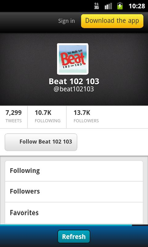 Beat 102 103- screenshot