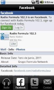 Radio Formula San Antonio- screenshot thumbnail