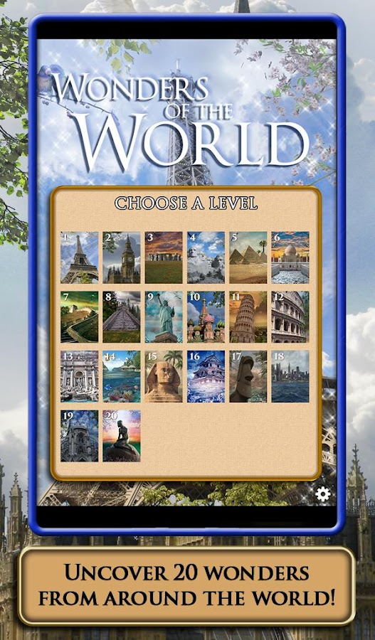 Screenshots of Hidden Scenes - World Wonders for iPhone