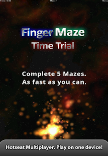 Finger Maze- screenshot thumbnail